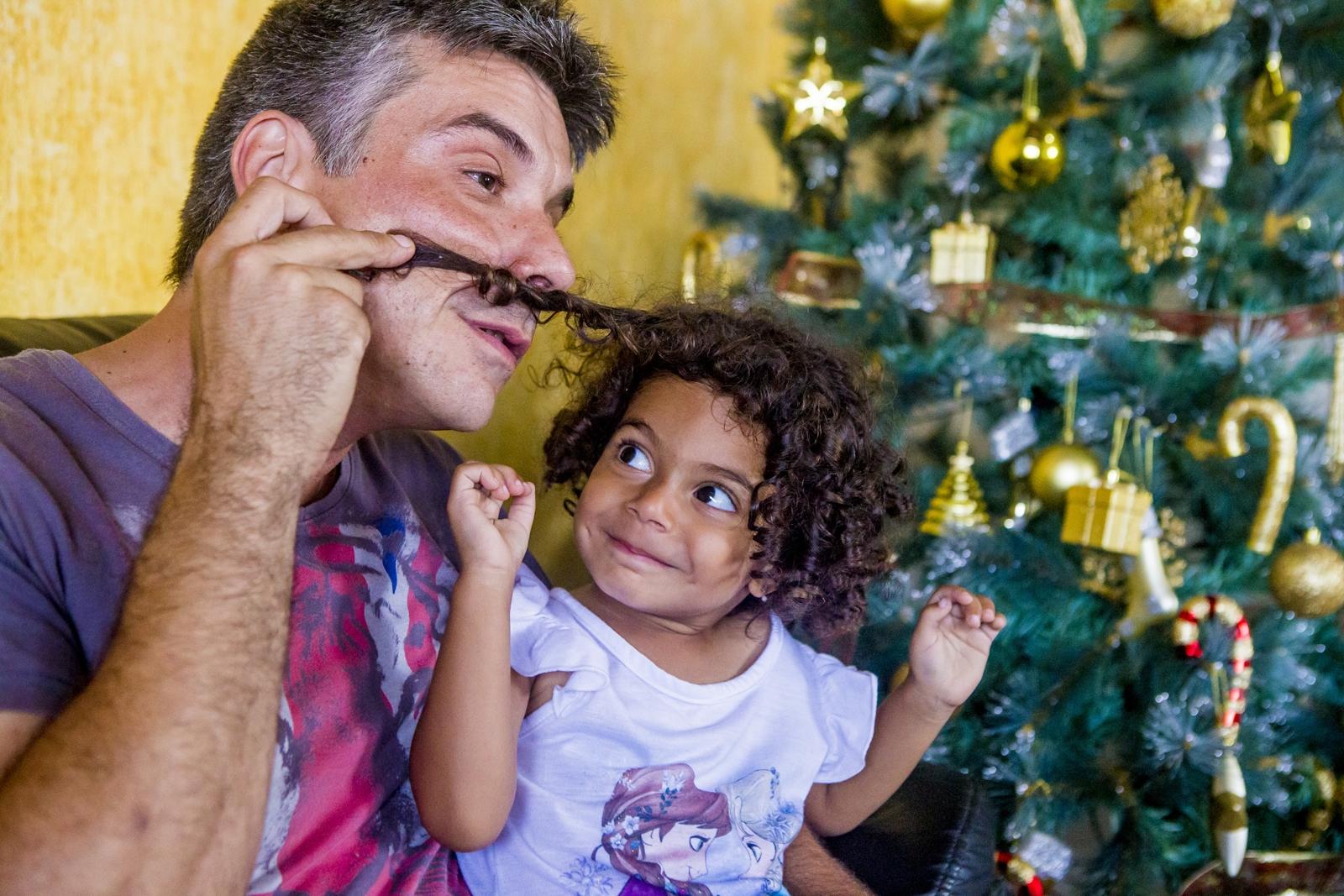 Fabrício e Luísa aproveitam mais um Natal juntos - Flávio Tin/ND