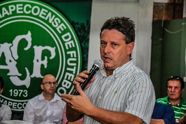Sandro Pallaoro conduziu a equipe da Chape ao topo - Divulgação/Chapecoense/ND
