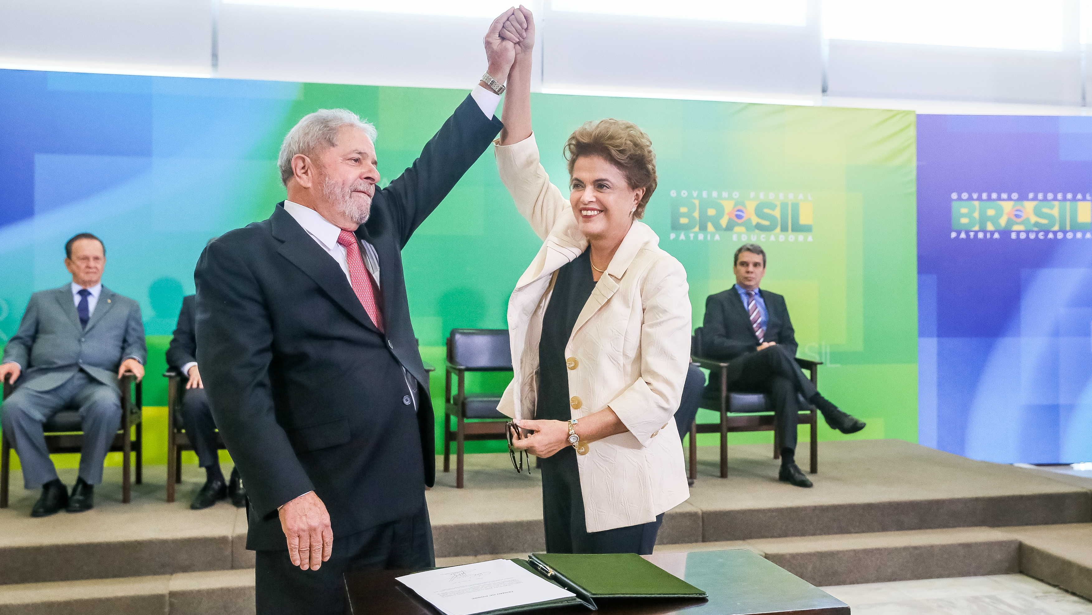 Dilma nomeia o ex-presidente ministro da Casa Civil - Roberto Stuckert Filho/Divulgação/ND