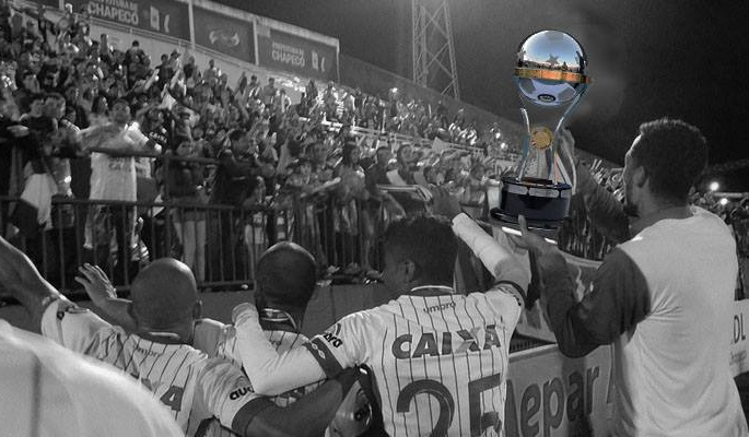 Na Final dos Sonhos, a Chape teria vencido o Nacional pro 3 a 1 - Reprodução/Legado da Copa