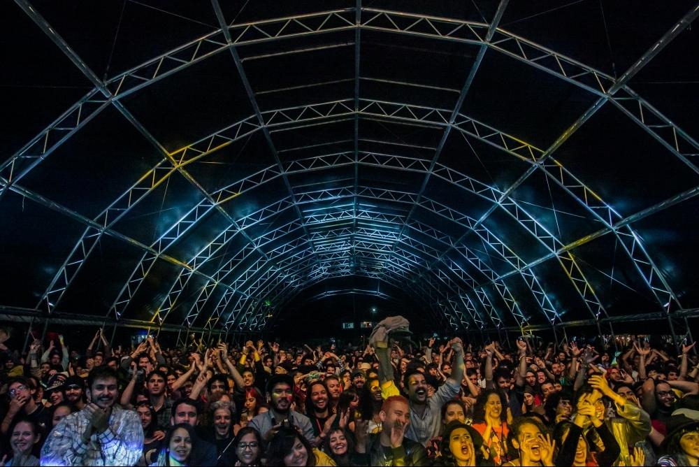 Em Rio Negrinho, o Psicodália chega a reunir até 3.000 pessoas – em 2017 são esperadas 5.000 – em torno de uma seleção de músicos de qualidade e uma estrutura para uma vivência comum nos dias de evento - Divulgação Psicodália/ND