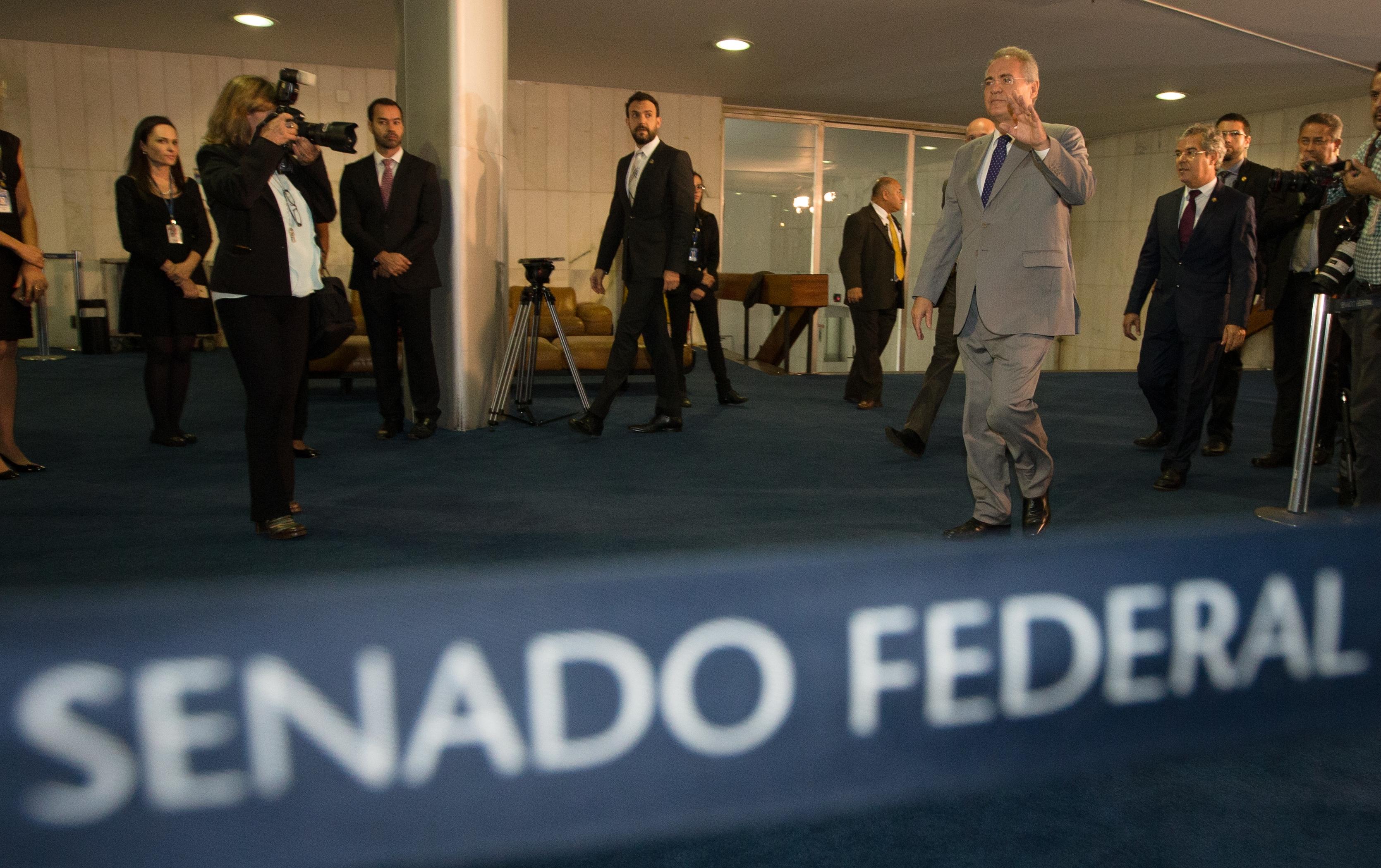 Renan fica no cargo, mas sem direito de ocupar a Presidência da República - Lula Marques/AGPT/ND