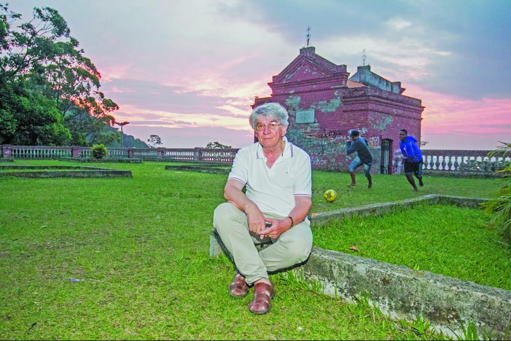 Padre Vilson completou 35 anos de serviço nas comunidades de Florianópolis - Marco Santiago/ND