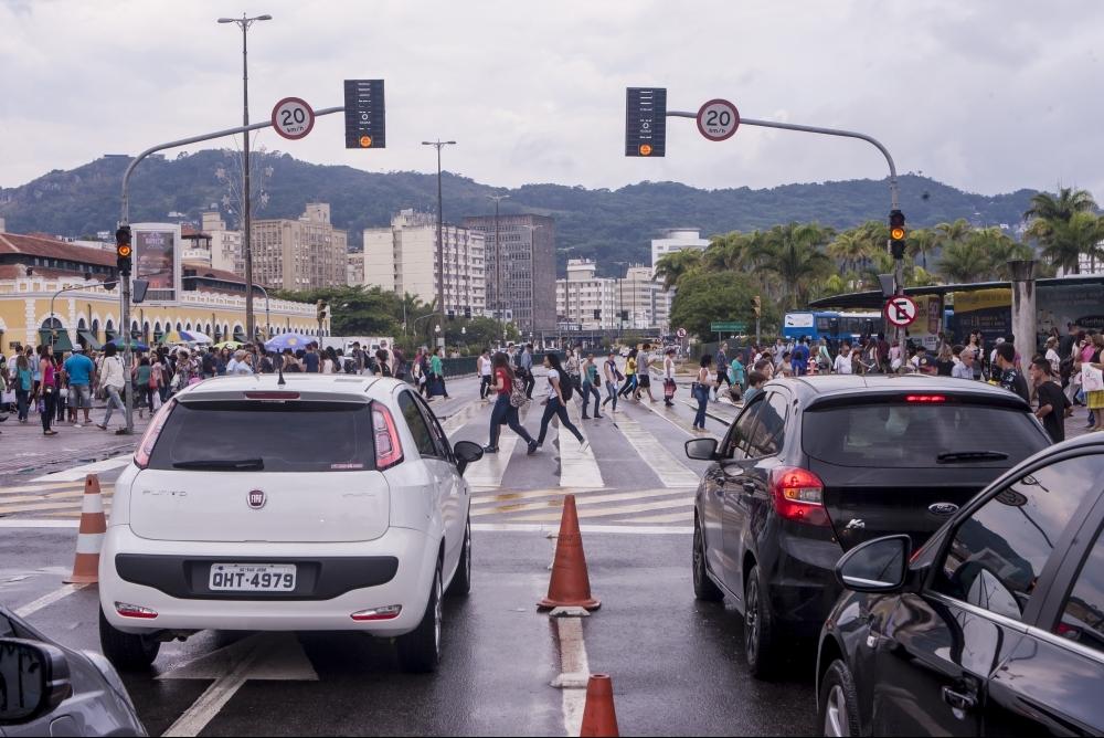 Semáforos em Florianópolis estão sem manutenção desde o início do mês - Flávio Tin/ND