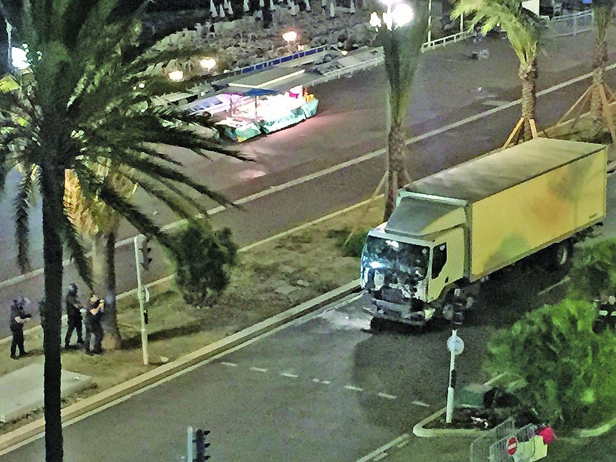 Atentado deixou 86 mortos em Nice em 14 de julho, Dia da Bastilha - Divulgação/ND