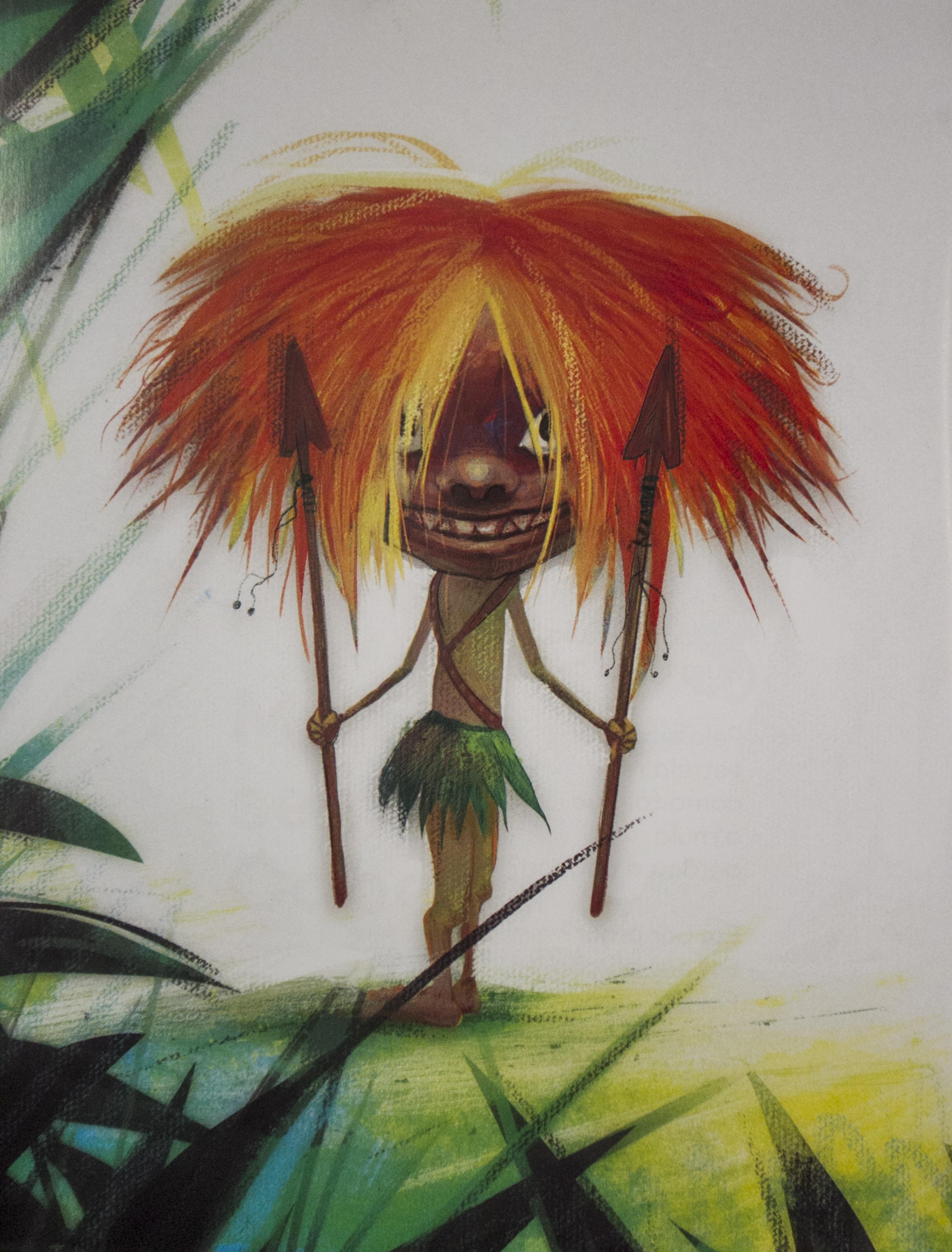 Ilustrações no livro são do artista gaúcho Dane D'Angeli - Divulgação/ND