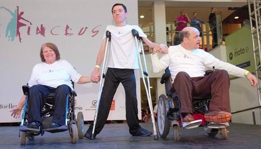 Objetivo do evento é fomentar a inclusão de pessoas com deficiência intelectual ou múltipla por meio da dança - Divulgação/ND