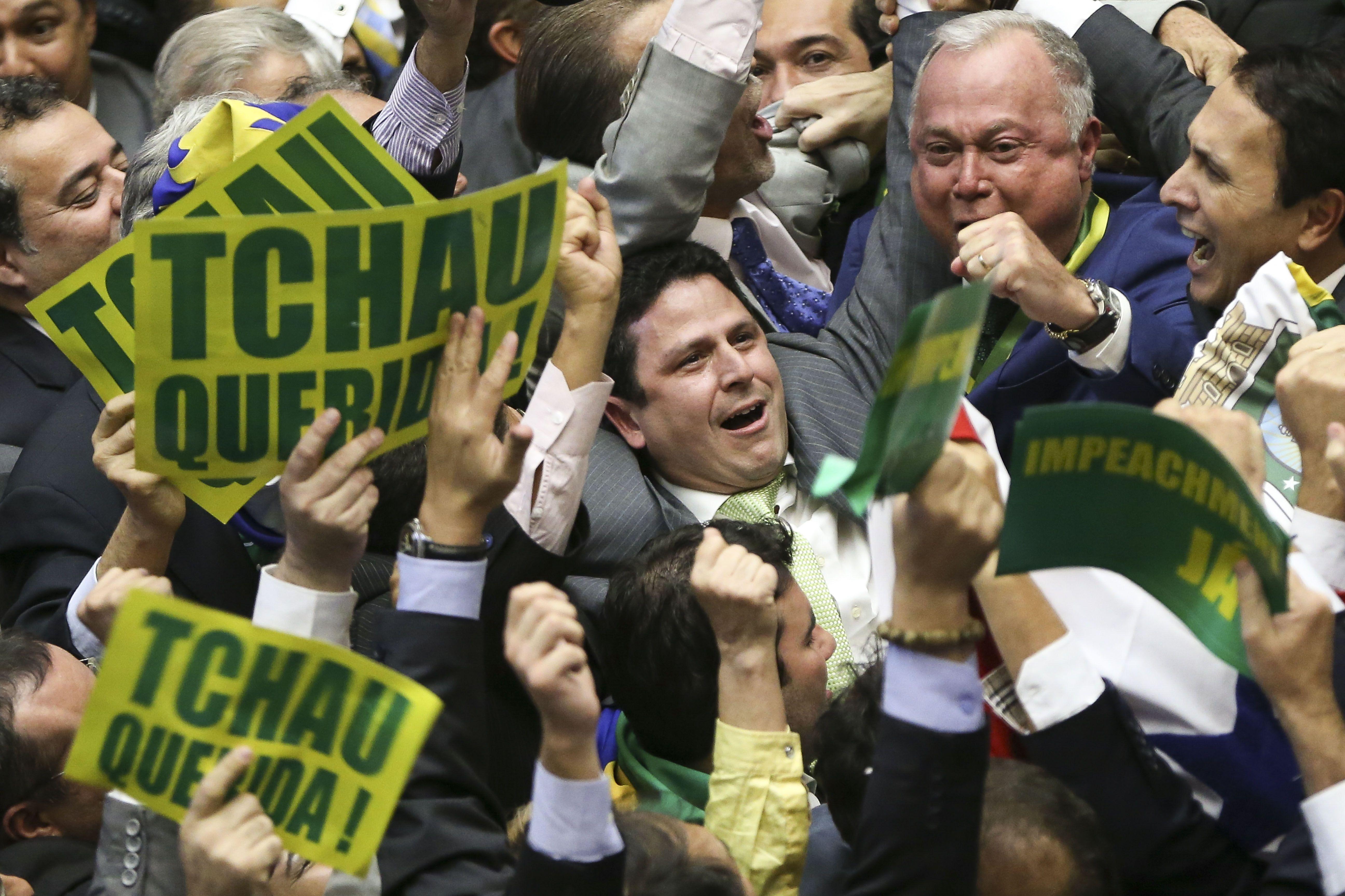 Câmara aceitou o pedido de impeachment de Dilma - Marcelo Camargo/Agência Brasil/ND
