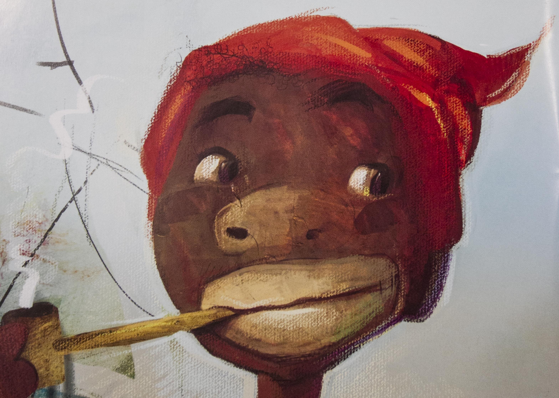Eloí Bocheco resgata lendas como do Curupira e Pedro Malazartes, personagens da infância dos brasileiros  - Divulgação/ND
