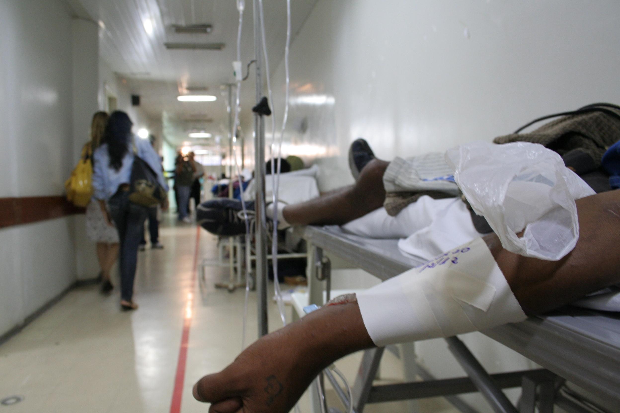 Emergência do hospital Celso Ramos terá duas paralisações por dia - Edu Cavalcanti/Arquivo/ND