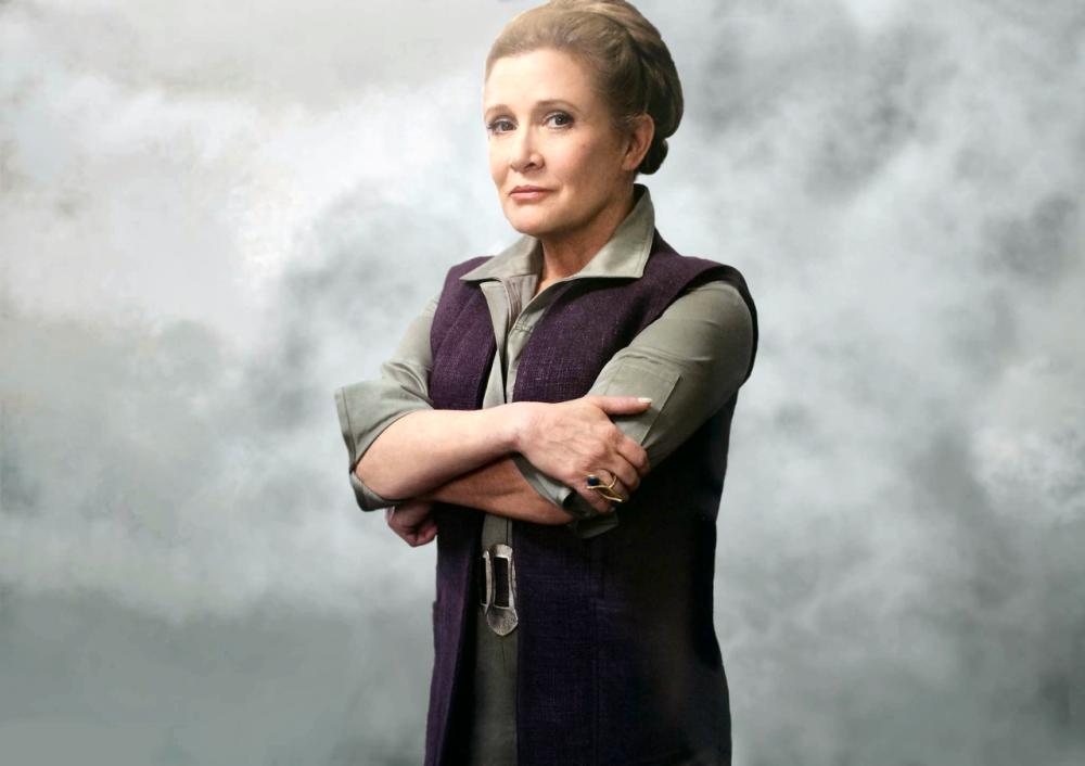 Carrie Fisher morre nesta terça-feira - Divulgação/ND