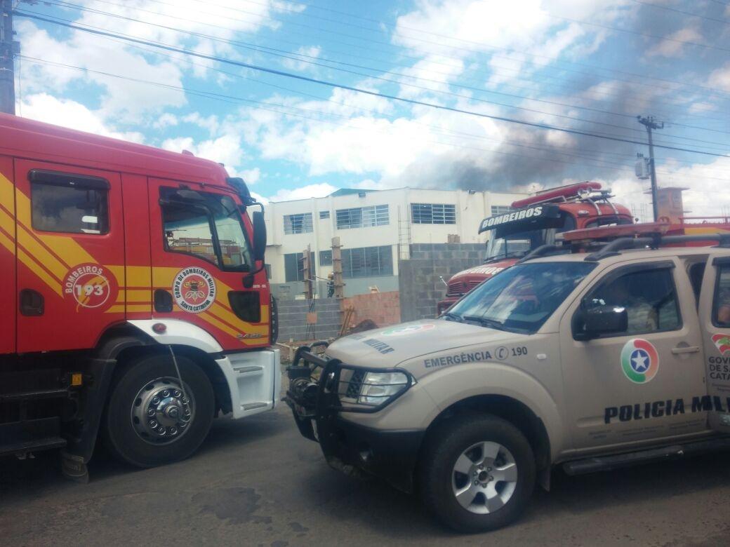 Rebelião no presídio de Lages, na Serra Catarinense - Divulgação/ND