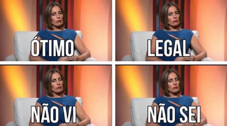 Atriz virou meme nas redes sociais - Divulgação/ND