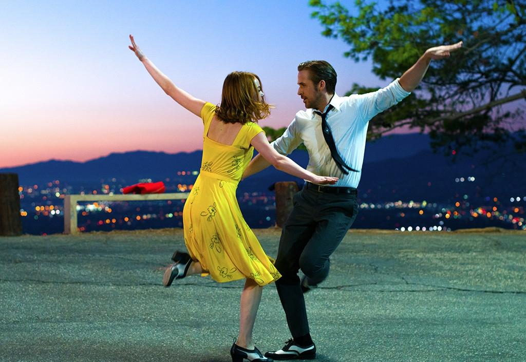 Com Ryan Gosling e Emma Stone,