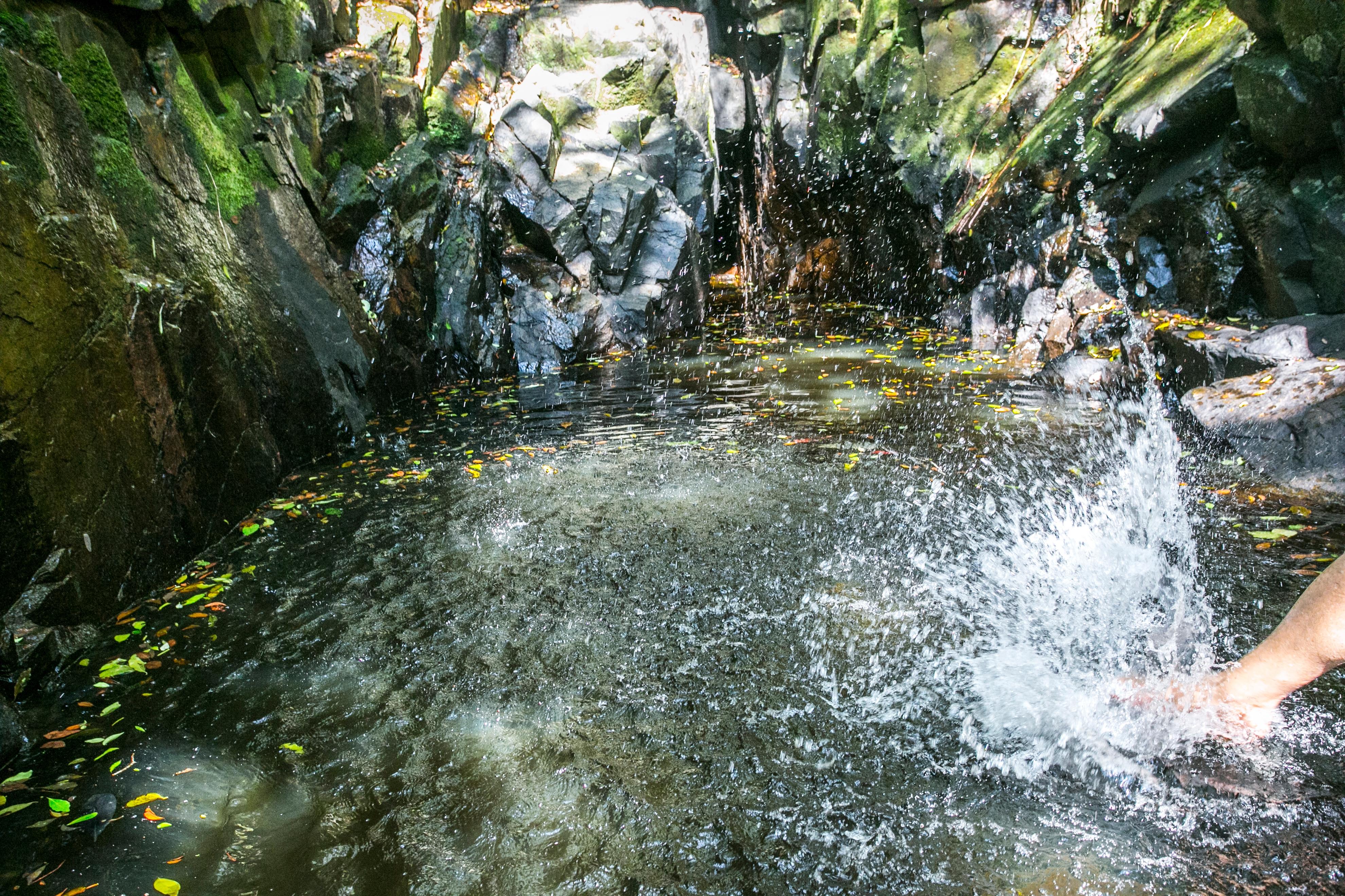 Tomar banho em rios e cachoeiras merece cuidados - Daniel Queiroz/ND