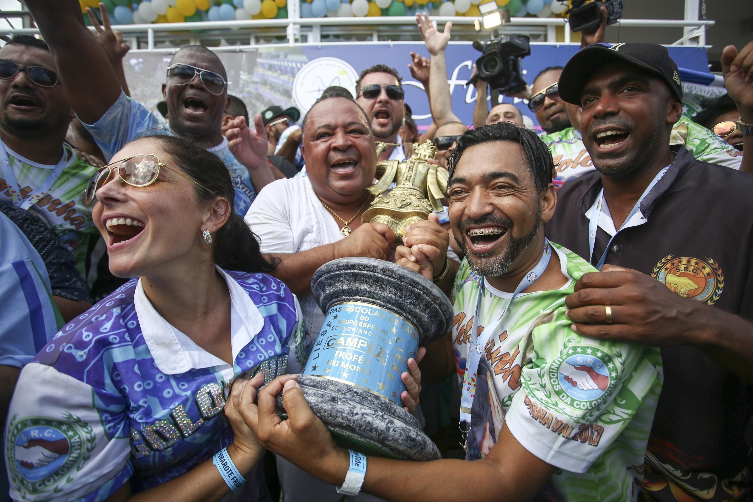Este é o 9° título da agremiação da Unidos da Coloninha - Daniel Queiroz/ND