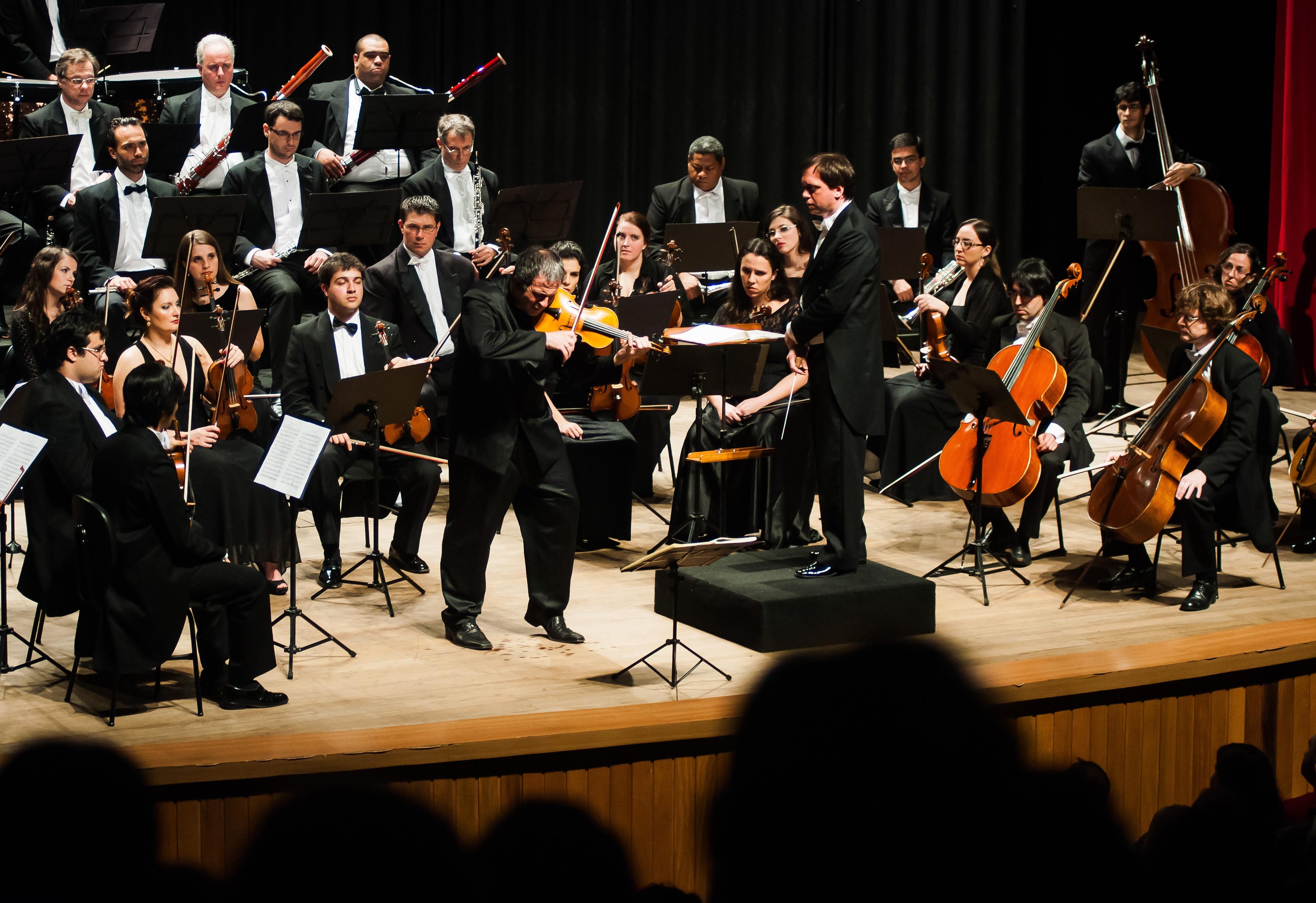 A orquestra mantém igual seu programa erudito - Maria Victória/Divulgação/ND