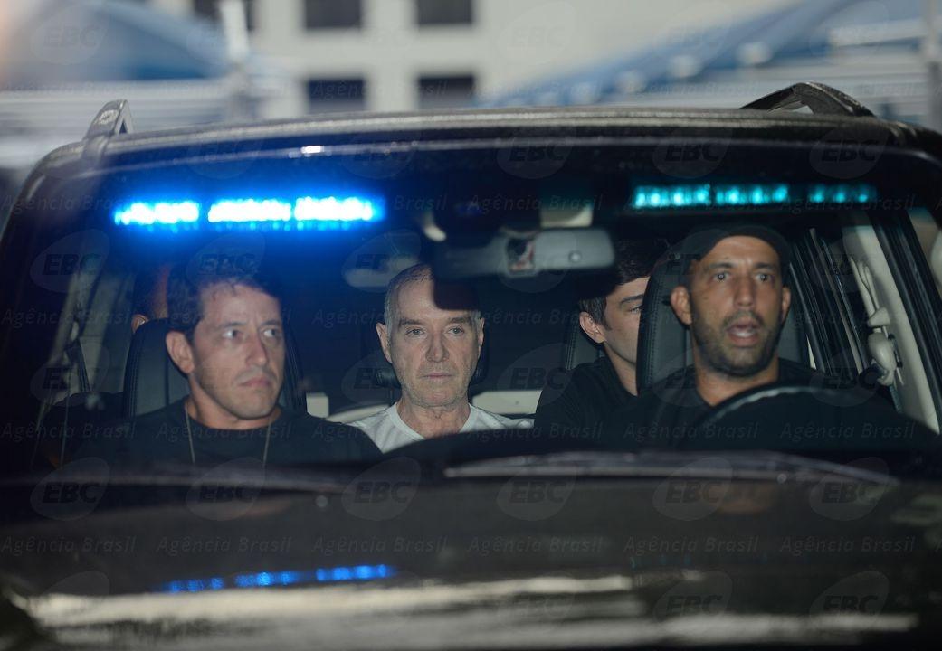 Eike retornou a Bangu após depoimento na sede da Polícia Federal - Agência Brasil/Divulgação/ND