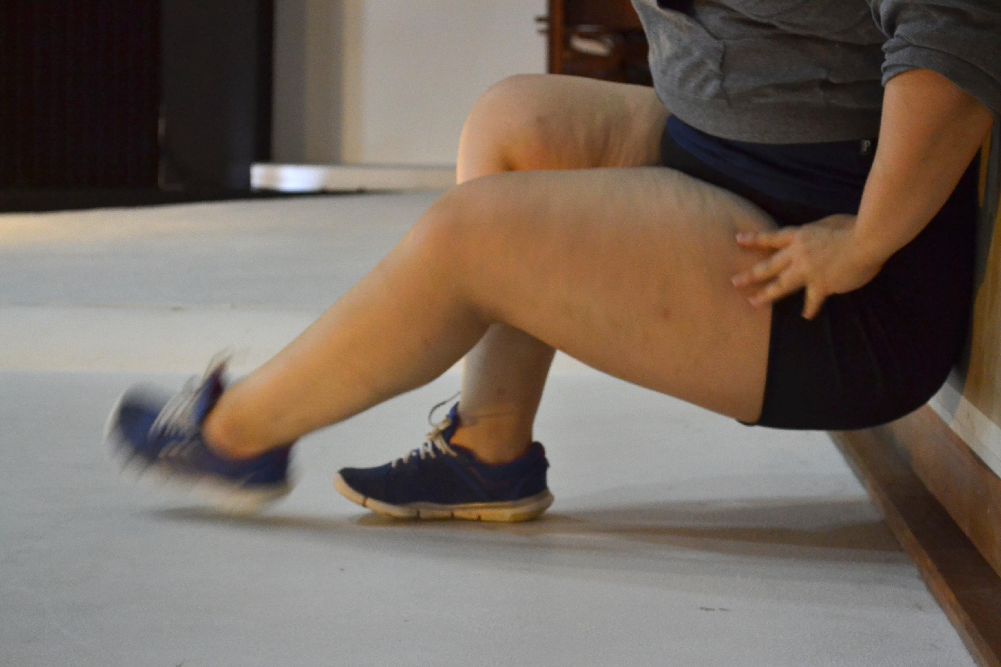 A bailarina Jussara Belchior faz ensaio aberto no Memorial Meyer Filho - Cassiana dos Reis Lopes/Divulgação/ND