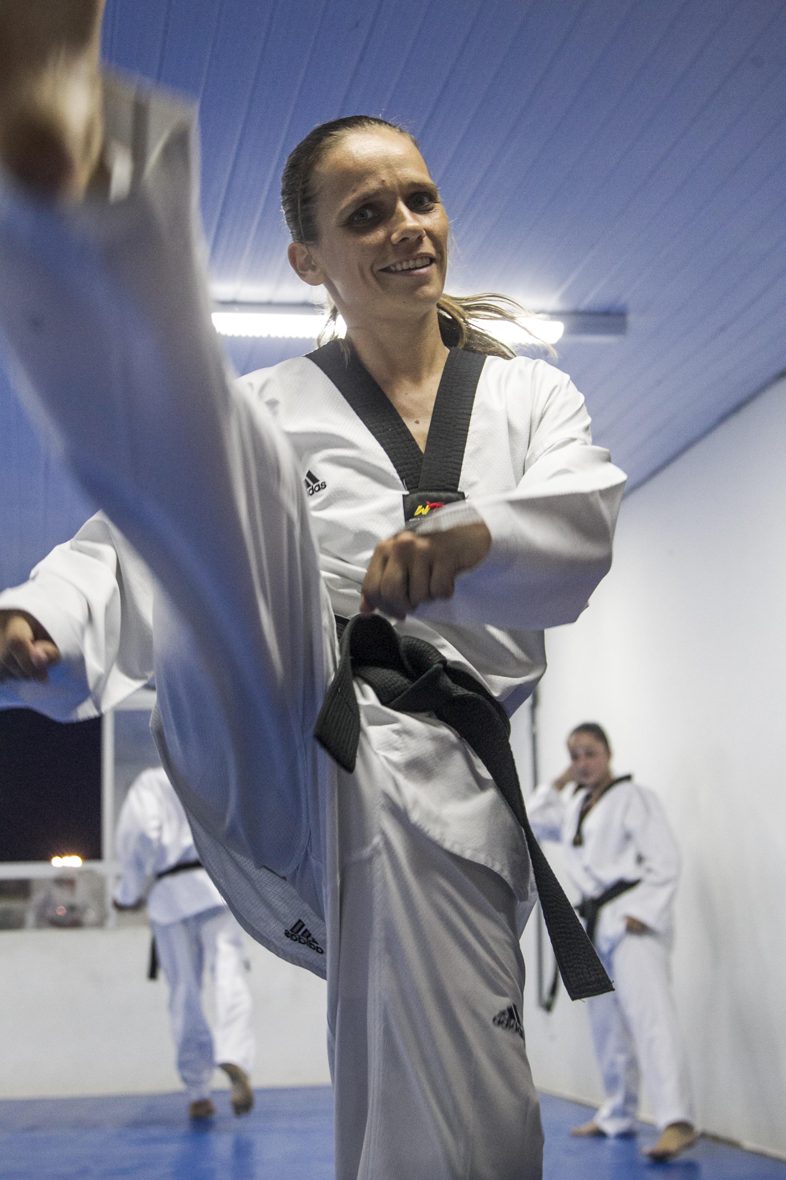 Alessandra Trevisan foi bronze no Sul-Americano em 2015 e participou da seletiva para a Rio 2016 - Marco Santiago/ND