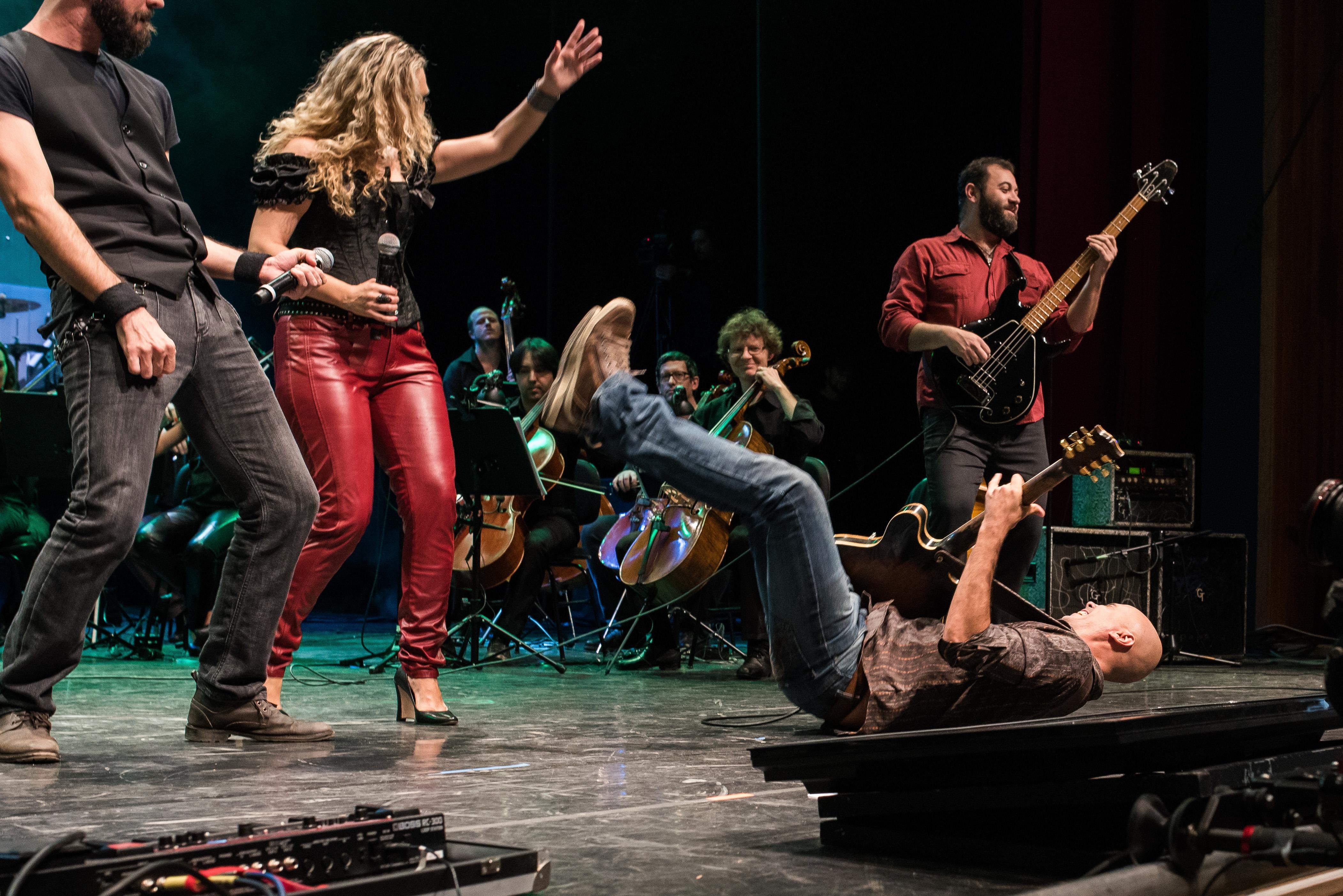 O Rock'n Camerata é um dos programas responsáveis por difundir a orquestra - Fotos Maria Victória/Divulgação/ND