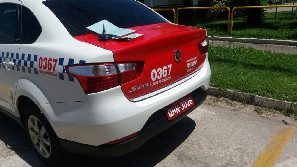 Táxi irregular é apreendido pela Prefeitura de Florianópolis - Divulgação/PMF/ND
