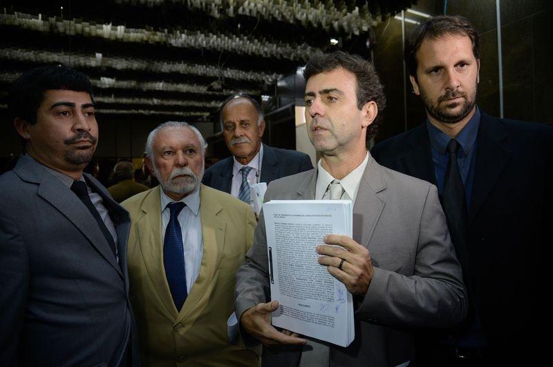 Deputados do PSOL protocolam pedido de impeachment de Pezão - Fernando Frazão/Agência Brasil/Divulgação/ND