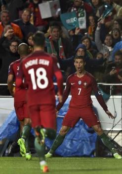 Veja imagens da vitória de Portugal - (Foto: Patricia de Melo Moreira / AFP)