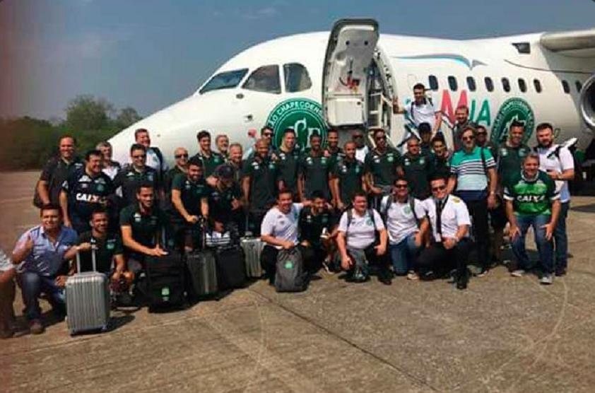 Avião Chapecoense - Divulgação