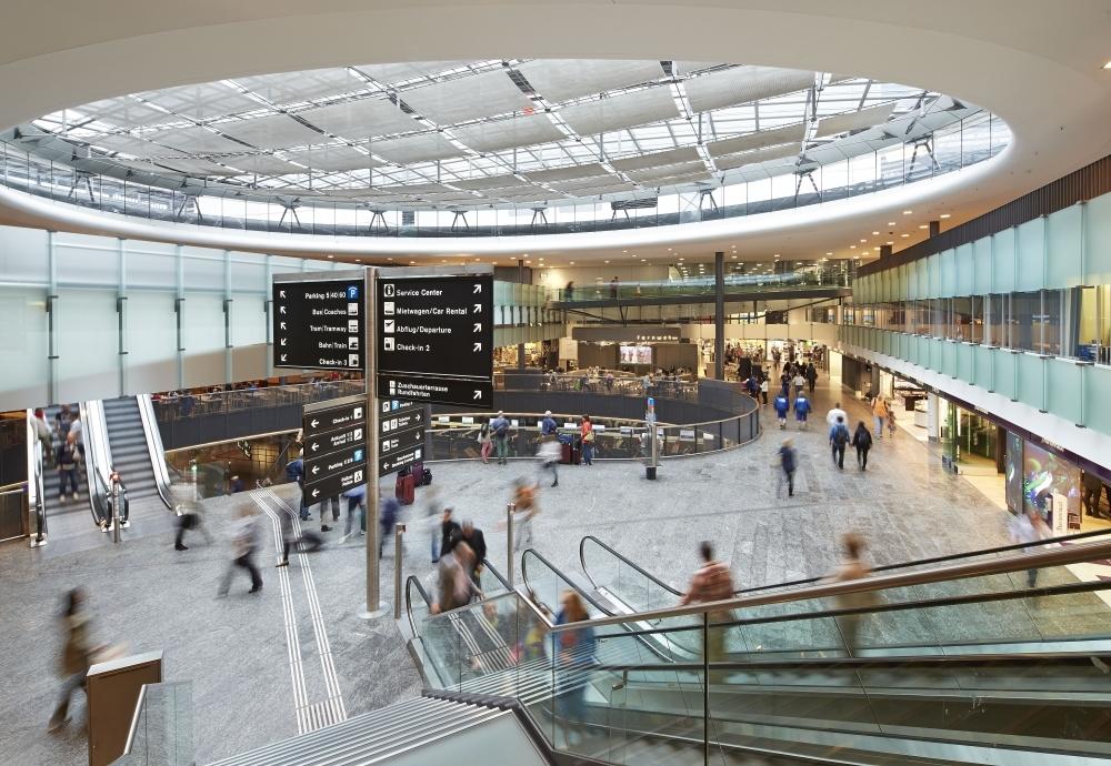 A empresa Zurich Airport AG, que venceu o leilão de concessão do Aeroporto Internacional Hercílio Luz, administra o Aeroporto de Zurique, o principal da Suíça e um dos mais movimentados da Europa - Divulgação/ND