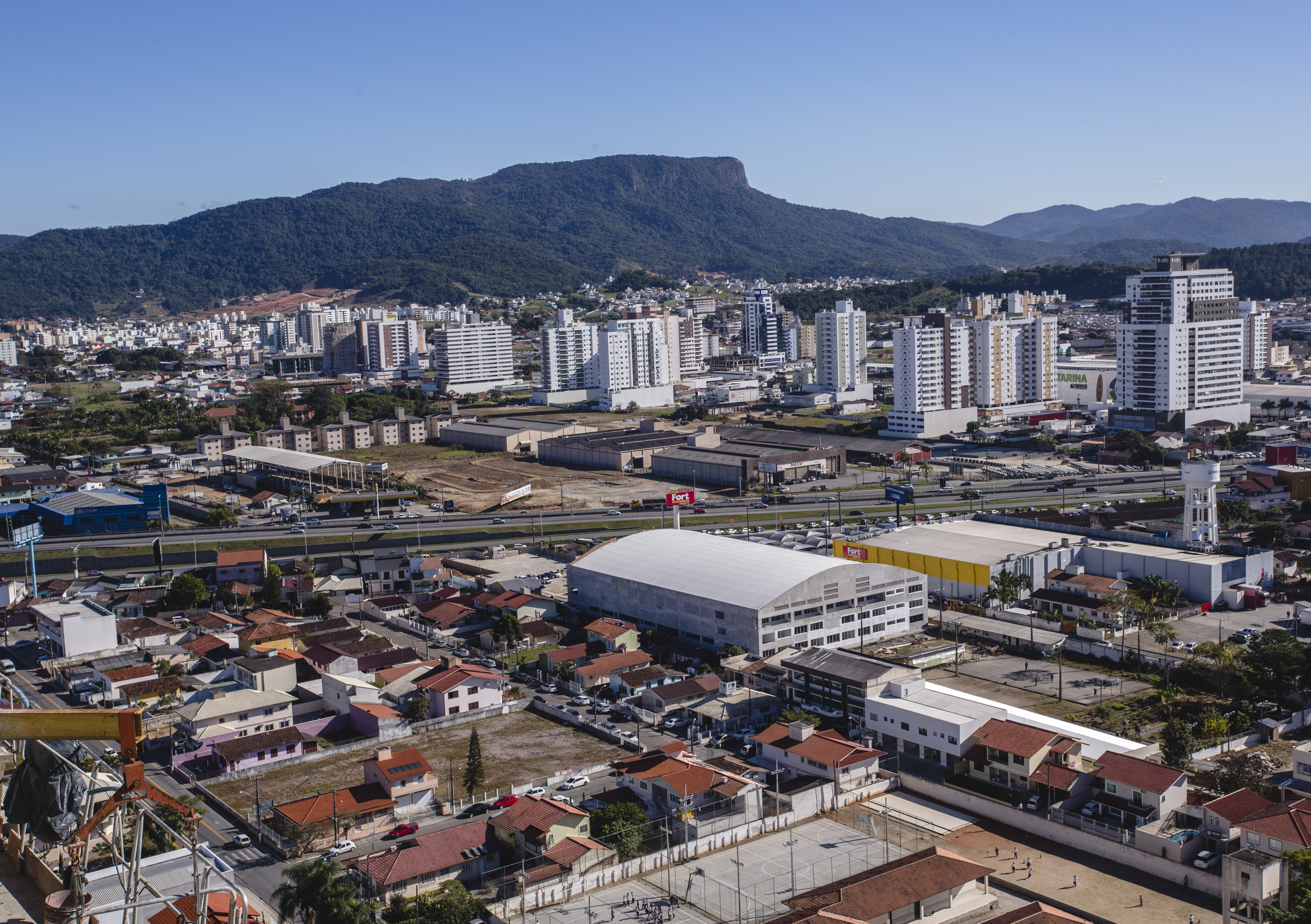 Palhoça tem seis distritos industriais e benefícios à instalação de novos empreendimentos - Daniel Queiroz/ND