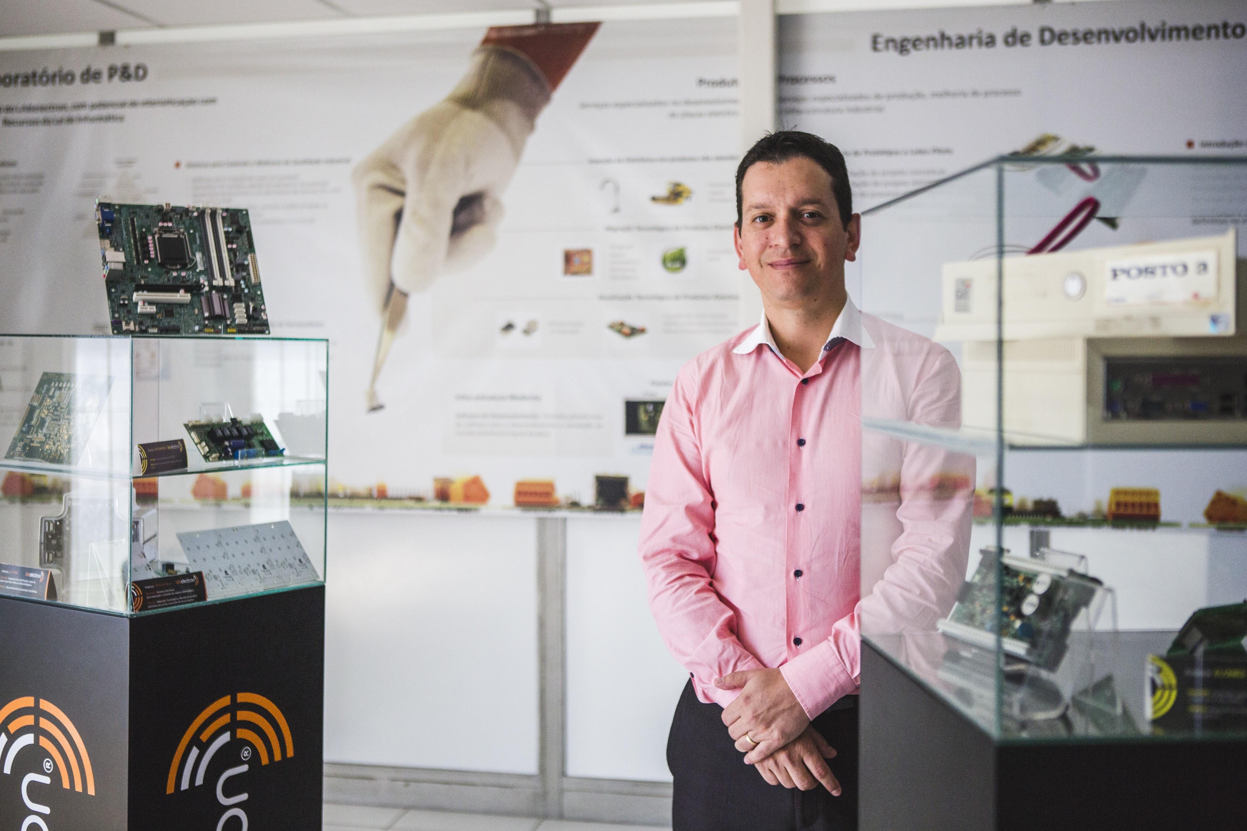 Thiago Mantovani: empresas para sobreviver, precisam dos processos da Indústria 4.0 - Daniel Queiroz/ND
