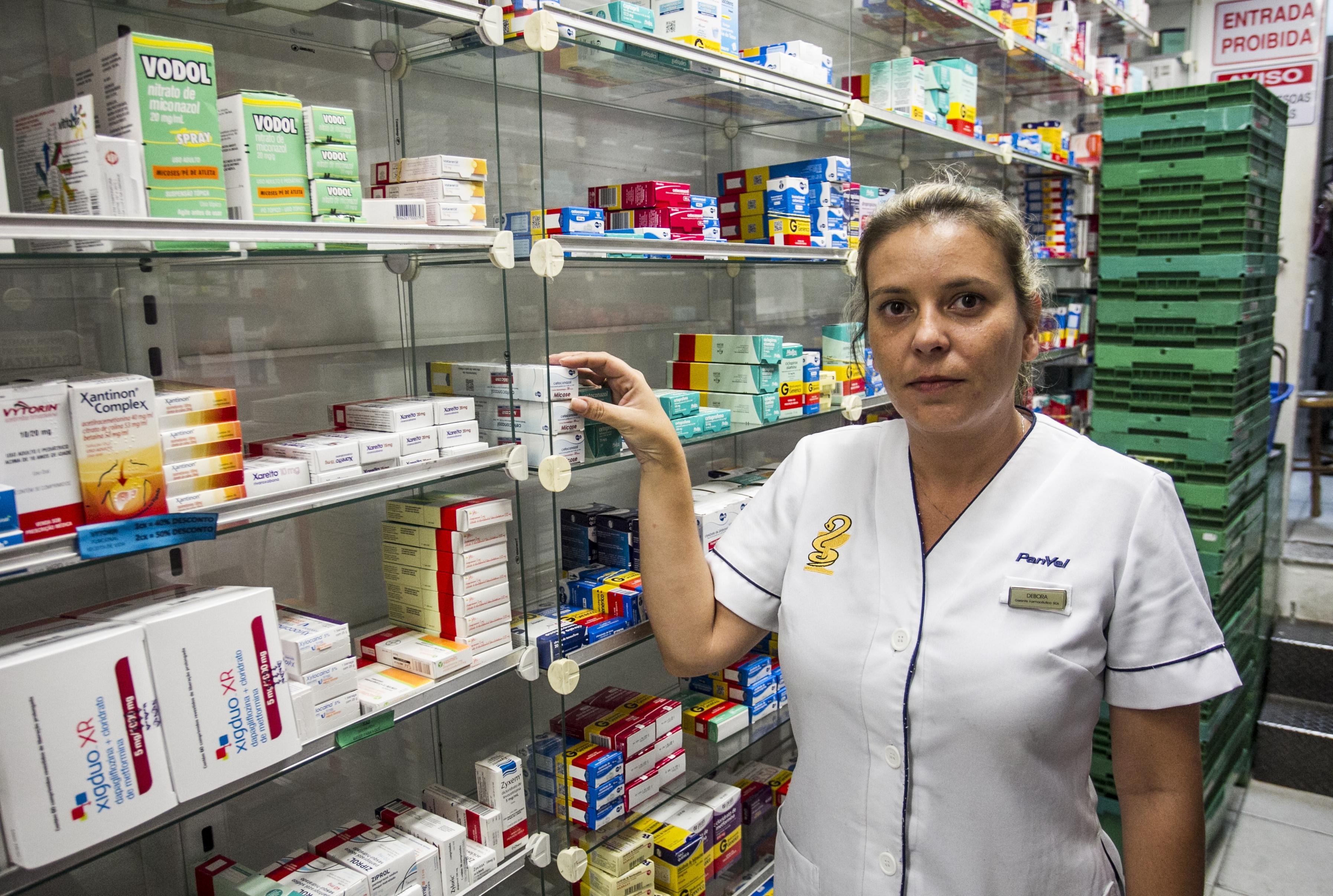 A farmacêutica diz que os usuários do programa Aqui tem Farmácia Popular estão mal informados - Marco Santiago/ND