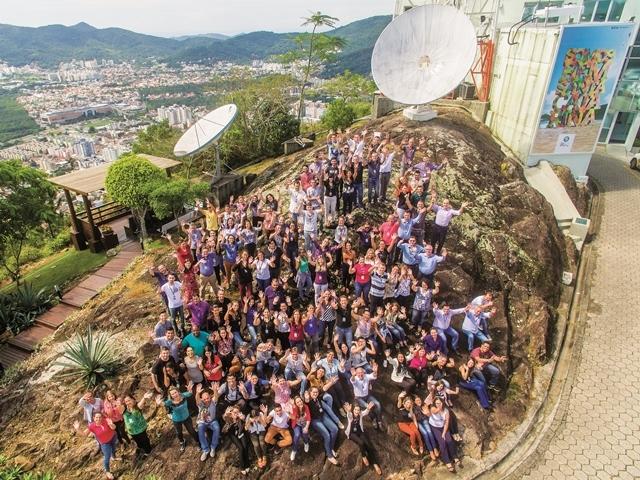 Com seis emissoras, um jornal, dois portais e uma editora, a empresa tem 537 colaboradores - Flávio Tin/ND