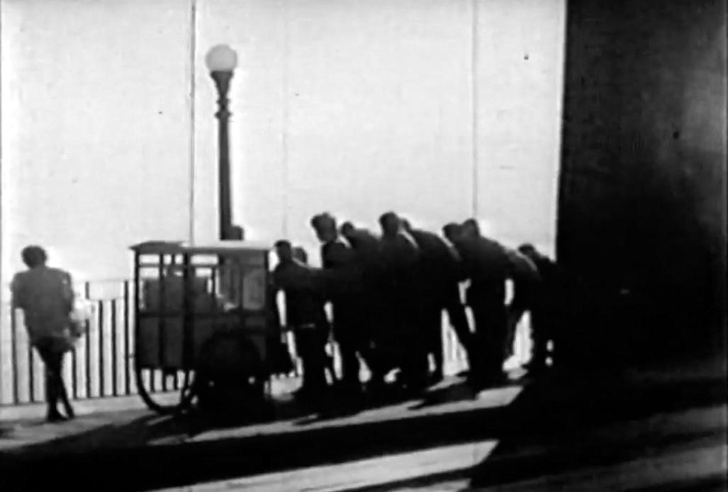 """Fotograma de """"O Preço da Ilusão"""", obra cinematográfica de 1957, muito cultuada e poucas vezes assistida completa - Reprodução/ND"""