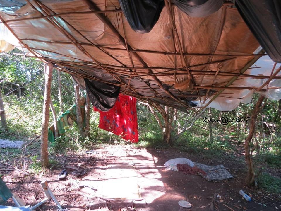 Ocupação ilegal em Florianópolis – Foto: Divulgação/ND