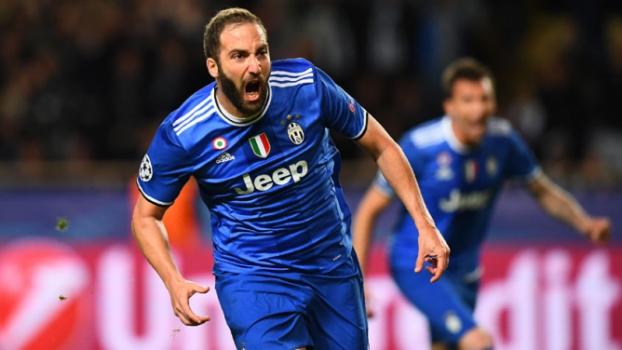 Monaco x Juventus - AFP