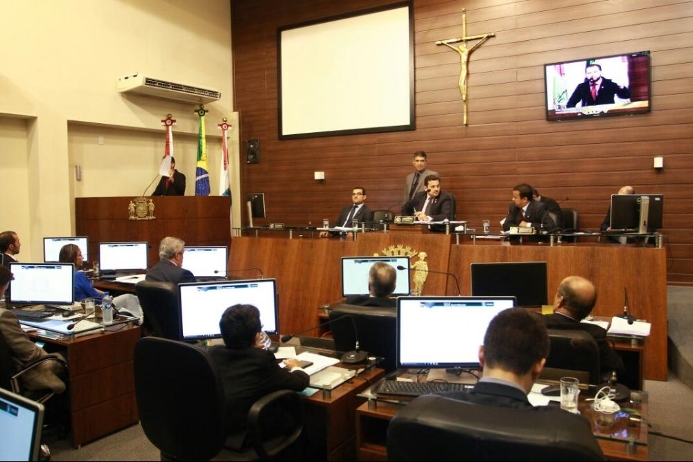 Vereadores retomam a votação do pacote de medidas de Gean nesta quarta - Daniel Queiroz/ND