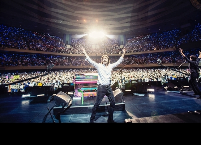 Paul McCartney fará shows no Brasil em outubro - Divulgação/Paul McCartney