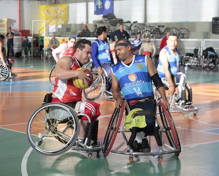 Basquete em cadeira de rodas recebe recursos - Sidney Silva EsporteSC 0af4a01f30dd2