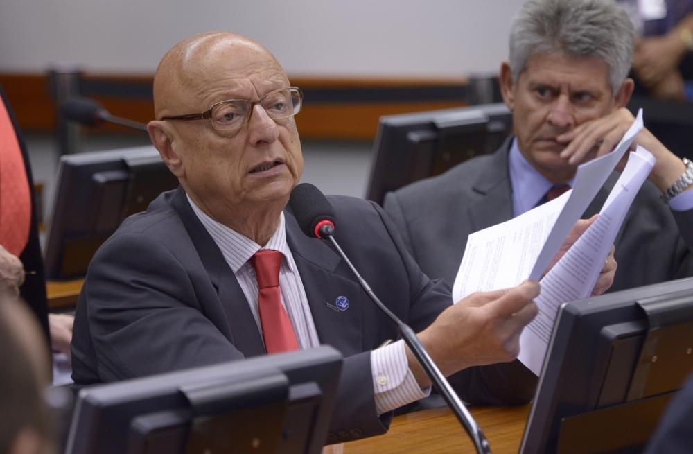 Esperidião Amin, relator do projeto - Câmara/ND