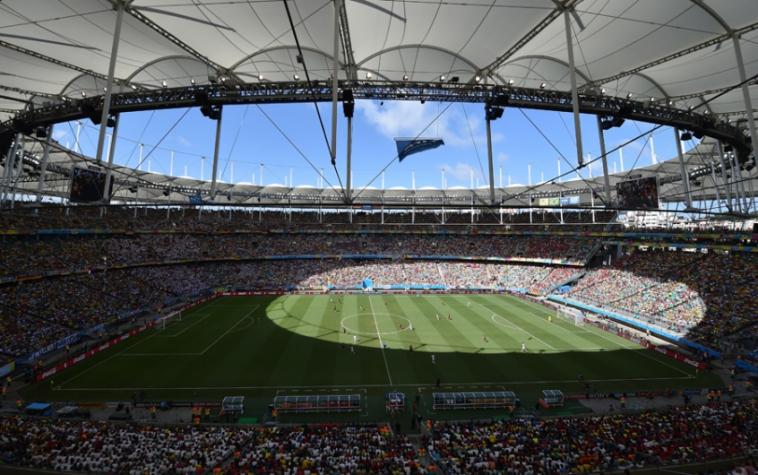 Arena Fonte Nova será o palco do duelo entre argentinos e colombianos – AFP / DIMITAR DILKOFF