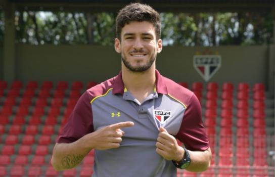 Marcinho está emprestado até dezembro - Érico Leonan/saopaulofc.net