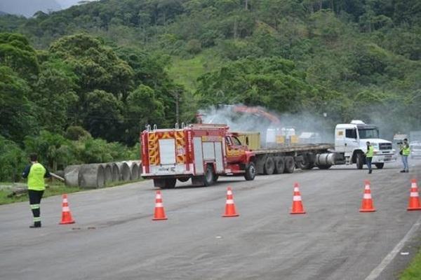 Simulação será feita pela Autopista Litoral Sul em parceria com a Defesa Civil - Divulgação/ND