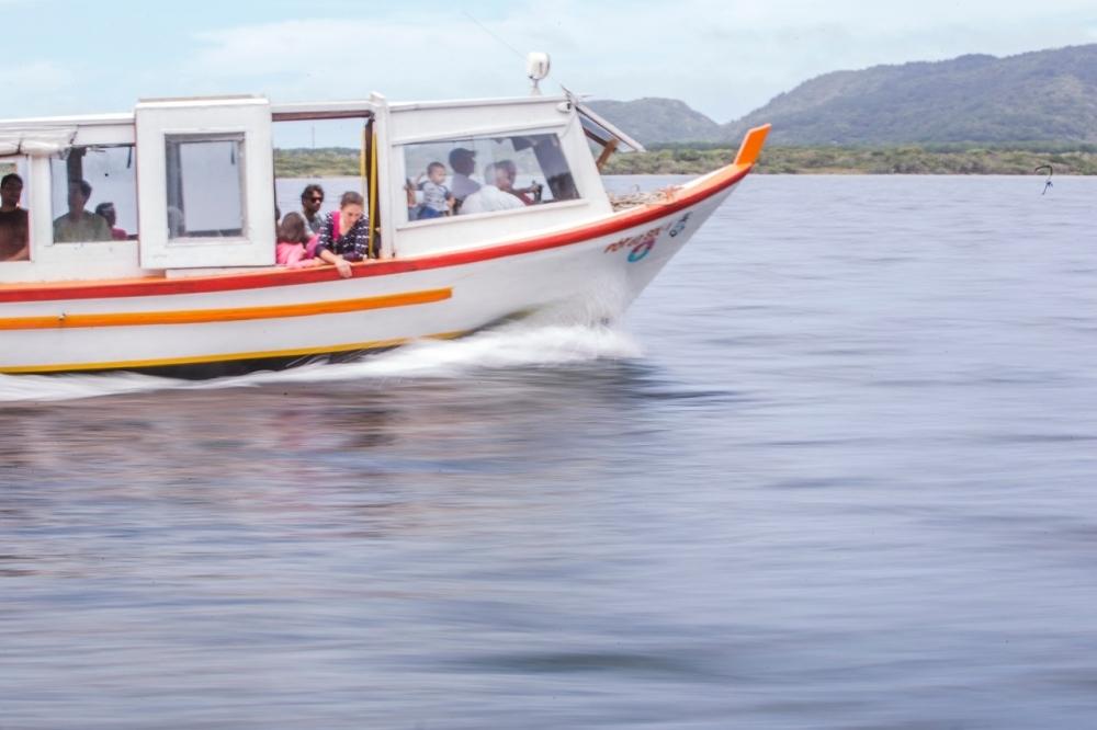 Por causa da greve, os horários dos barcos na Lagoa fora reduzidos pela metade - Daniel Queiroz/ND