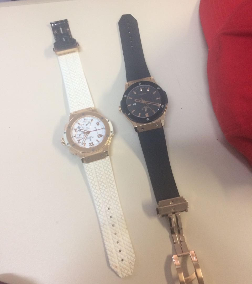 ed321e50587 Entre os objetos apreendidos pela Polícia Civil estão dois relógios de  vítimas catarinenses - Polícia Civil