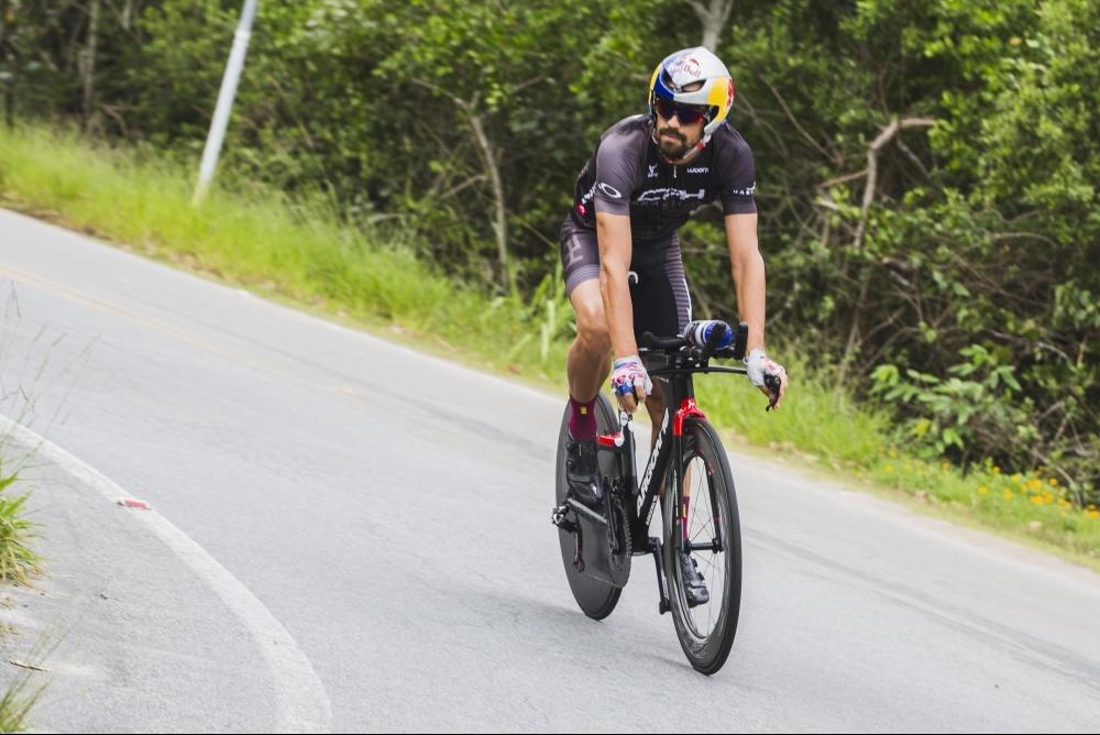 Mineiro radicado em Balneário Camboriú, Amorelli foi o melhor brasileiro no Ironman Floripa - Daniel Queiroz/ND