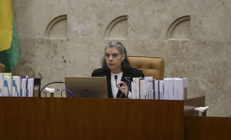"""""""Minha geração lutou pelo direito de lembrar"""", disse a ministra Cármen Lúcia – Foto: José Cruz/Agência Brasil/ND"""