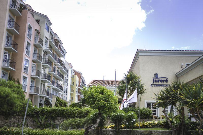 O hotel Il Campanario, por exemplo, foi construído em cima de um curso d´água – Daniel Queiroz/ND