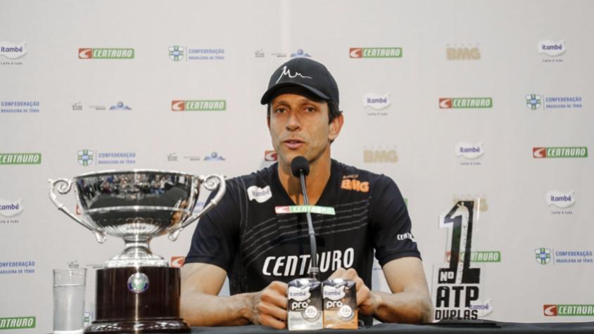 Marcelo Melo é um dos brasileiros remanescentes no Aberto da Austrália; ele joga com a russa Vera Zvonareva – Foto: Divulgação/ND